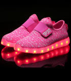 La vente directe d'usine badine les chaussures instantanées de DEL, chaussures lumineuses des gosses DEL