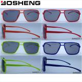 Gafas de sol modernas de cristal modificadas para requisitos particulares nuevo diseño de la manera del diseño