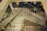 Suporte de vidro do corrimão do aço inoxidável da balaustrada
