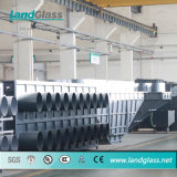 Verre de Landglass se pliant gâchant la chaîne de production
