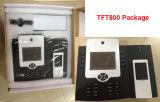 Sistema grande do controle de acesso da impressão digital da capacidade com câmera interna (TFT800)
