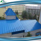 Feuille en acier galvanisée de toiture de panneau de toit enduite par couleur