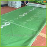 Bandera del acontecimiento de los deportes al aire libre y bandera de la tela con la impresión secundaria del tinte (TJ-BO04)