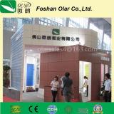 Painel exterior de construção colorido placa da decoração do cimento da fibra