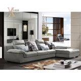 Il sofà moderno del tessuto del salone ha impostato (6062B)