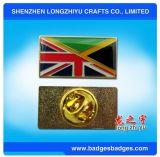 Emblema do Pin da amizade do emblema da bandeira do esmalte