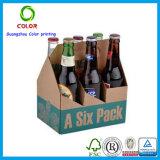 Boîte de présentation de bière de carton de supermarché