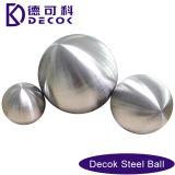 RoHS las bolas de acero con poco carbono de 0.35 a 200 milímetros cepilladas cepilló la esfera de hueco del acero inoxidable