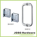 Vollständiges Set Shower Glass Door Shower Hinge und Door Handle