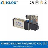Valvola pneumatica/elettrovalvola a solenoide a due posizioni dell'aria della lega di /Aluminum di Cinque-Modo