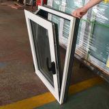 Guichet vers l'intérieur Kz253 d'inclinaison et de spire de profil en aluminium enduit par poudre blanche de couleur de qualité