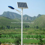 5m 6m 20W 30W LED Pure White Solar Street Light