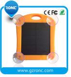 Bewegliche Sonnenenergie-Bank-Aufladeeinheit mit Licht des Saugventil-Fenster-Fühler-LED