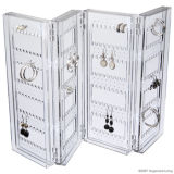 Premiers présentoirs acryliques de vente de boucle d'oreille