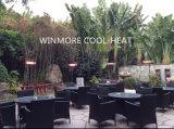 Coldness-Refuser! Calentador de cuarzo calentador instantáneo para uso al aire libre
