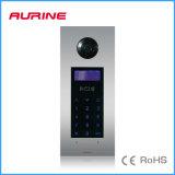 Intercomunicador leve do vídeo da entrada do telefone da porta do controle de acesso do IR
