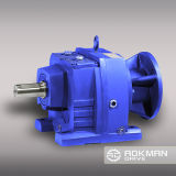 Hora Series Output Shaft com Helical Gear Motor Gearbox