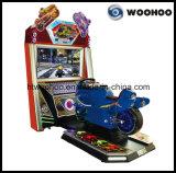 """Máquina del simulador del coche de competición de la motocicleta con """" pantalla 47"""