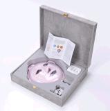 Masque Facial LED Vibrant Rechargeable avec Fonction de Massage