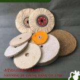Rodas da jóia das rodas lustrando de pano do sisal/rodas de lustro agora tecidas
