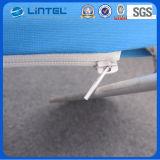 Drapeau s'arrêtant d'intérieur de tissu d'étalage de signe de triangle (LT-24D5)
