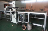 Cutting hidráulico Press Machine com Conveyor Belt para Motor Interior Decoration Materials