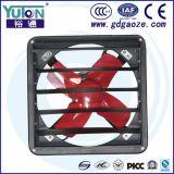 Ventilateur d'extraction industriel à faible bruit de mur