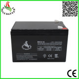 12V 12ah AGM gedichtete Leitungskabel-Säure-Batterie für Warnungssystem