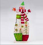 OEM van de opbrengst Gift van Kerstmis van het Metaal van het Decor van de Kunst de Kerstman Gevormde