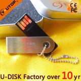 Лазер/шарнирное соединение логоса Silkscreen/вращая ручка USB металла (YT-3274L1)