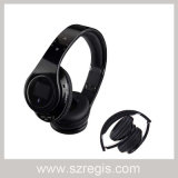 Auricular bajo plegable estéreo sin hilos del receptor de cabeza de Bluetooth 3.0