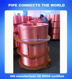 SGS zugelassenes hohes kupfernes zufriedenes kupfernes Gefäß-Rohr