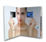 LCD Video Card Brochure for Brand Promotion, Advertizing, Greetng Card