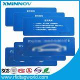 Escritura de la etiqueta inalterable del parabrisas de la frecuencia ultraelevada de RFID