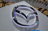Signe de logo de véhicule éclairé à contre-jour par DEL d'exposition