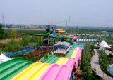 マルチ車線の虹波状水スライド