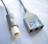 Cable del tronco ECG de Hellige Snap&Clip 10pin 3