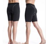 Modificar los cortocircuitos respirables de la gimnasia para requisitos particulares de hombres del poliester de secado rápido de la manera