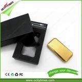 Alumbrador recargable del USB del cigarro del cigarrillo de la más nueva mini diapositiva de la alta calidad