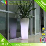 Plastik belichteter Potenziometer/Garten der LED-Blumen-Vase/Flower Using Potenziometer