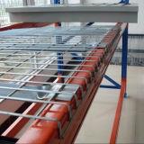 Lager-Lagerung galvanisierter Ladeplatten-Zahnstangen-DrahtDecking