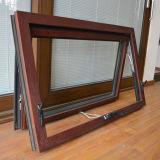 Finestra di legno di alluminio della tenda di profilo di alta qualità Kz350 con la serratura storta