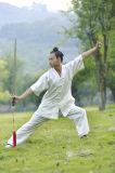 Tai Lente van de Hennep van het Bamboe van de Mensen van Kongfu van de Chi de de Hoogwaardige & Kleding van de Zomer