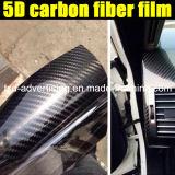 пленка обруча винила волокна углерода крена 5D стикера 1.52X20m