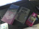 Kundenspezifische Plastikkosmetik, die Kasten für Duftstoff, Schablone, Haut-Sorgfalt-Set verpacken