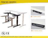 Sihangの新しいデザインは鉄骨フレームが付いている49インチの調節可能な机を立てる