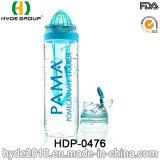 Нов оптовая бутылка воды вливания плодоовощ Tritan, BPA освобождает пластичную бутылку Infuser плодоовощ (HDP-0476)