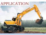 Cat325掘削機のコンポーネントの置換の下部構造は上のローラーを分ける