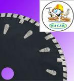 La circular protegida venta caliente del diamante de la lámina diente AG vio la lámina