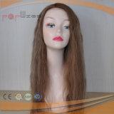 아름다운 긴 꼬부라진 사람의 모발 가발